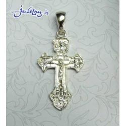 Серебрнный нательный крест.