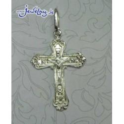 Серебрный нательный крест