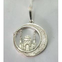 Серебряная мусульманская подвеска