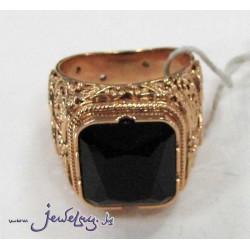 Золотое кольцо- печатка