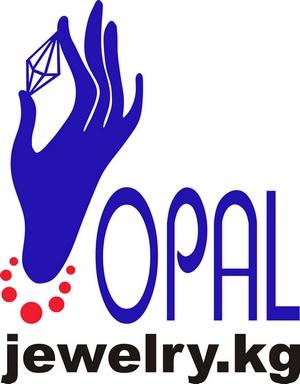 Логотип ювелирной компании ОПАЛ